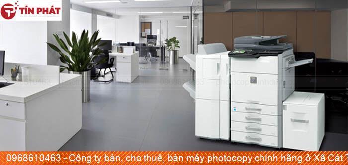 Công ty bán, cho thuê, bán máy photocopy chính hãng ở Xã Cát Tường Huyện  Phù Cát uy tín