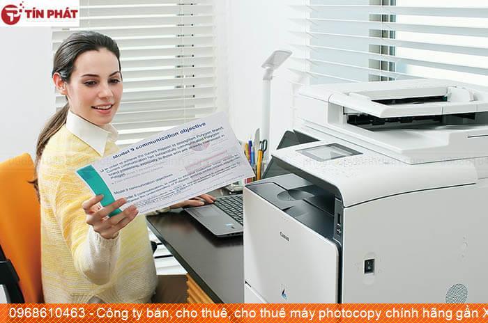 Công ty bán, cho thuê, cho thuê máy photocopy chính hãng gần Xã Cát Hưng Huyện  Phù Cát chất lượng