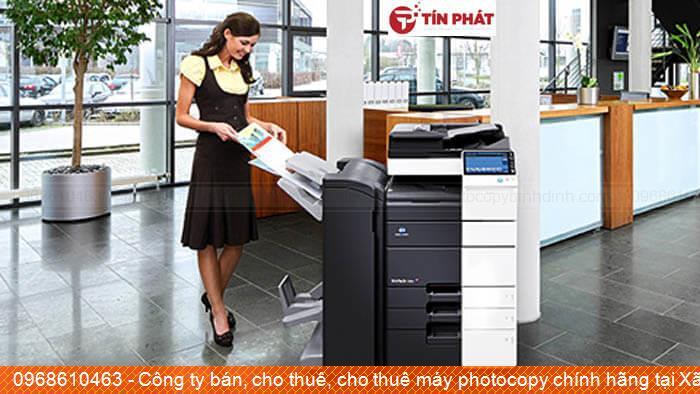 Công ty bán, cho thuê, cho thuê máy photocopy chính hãng tại Xã Cát Khánh Huyện  Phù Cát uy tín