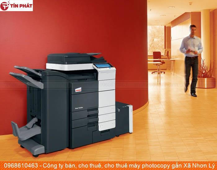 Công ty bán, cho thuê, cho thuê máy photocopy gần Xã Nhơn Lý Tp Quy Nhơn tốt nhất