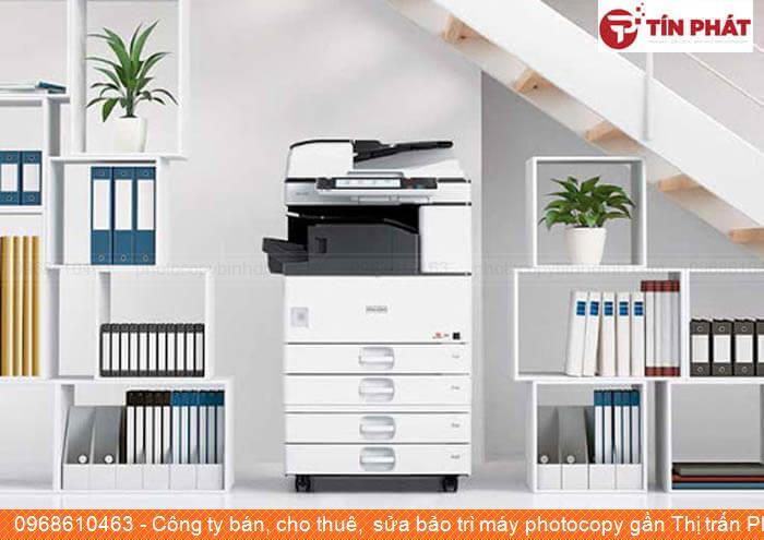 Công ty bán, cho thuê,  sửa bảo trì máy photocopy gần Thị trấn Phú Phong Huyện  Tây Sơn tốt nhất