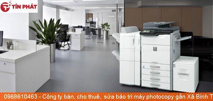 Công ty bán, cho thuê,  sửa bảo trì máy photocopy gần Xã Bình Tường Huyện  Tây Sơn giá rẻ