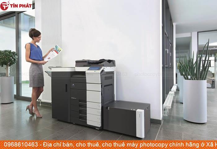 Địa chỉ bán, cho thuê, cho thuê máy photocopy chính hãng ở Xã Hoài Hải Thị xã Hoài Nhơn chất lượng