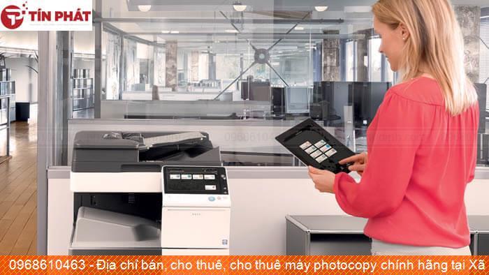 Địa chỉ bán, cho thuê, cho thuê máy photocopy chính hãng tại Xã Ân Đức Huyện Hoài Ân giá rẻ