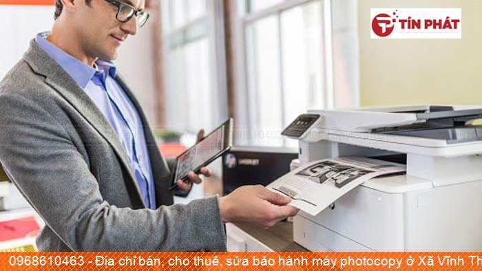 Địa chỉ bán, cho thuê, sửa bảo hành máy photocopy ở Xã Vĩnh Thuận Huyện Vĩnh Thạnh tốt nhất