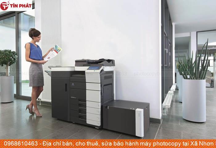 Địa chỉ bán, cho thuê, sửa bảo hành máy photocopy tại Xã Nhơn Phúc Thị xã An Nhơn tốt nhất