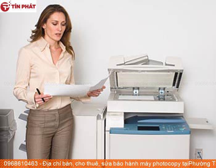 Địa chỉ bán, cho thuê, sửa bảo hành máy photocopy tạiPhường Tam Quan Thị xã Hoài Nhơn tốt nhất