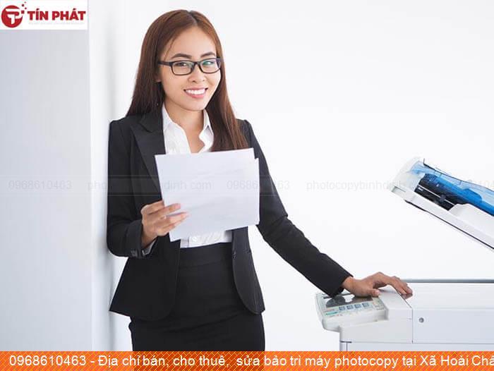 Địa chỉ bán, cho thuê,  sửa bảo trì máy photocopy tại Xã Hoài Châu Bắc Thị xã Hoài Nhơn uy tín