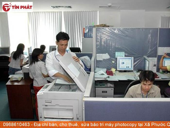 Địa chỉ bán, cho thuê,  sửa bảo trì máy photocopy tại Xã Phước Quang Huyện  Tuy Phước uy tín