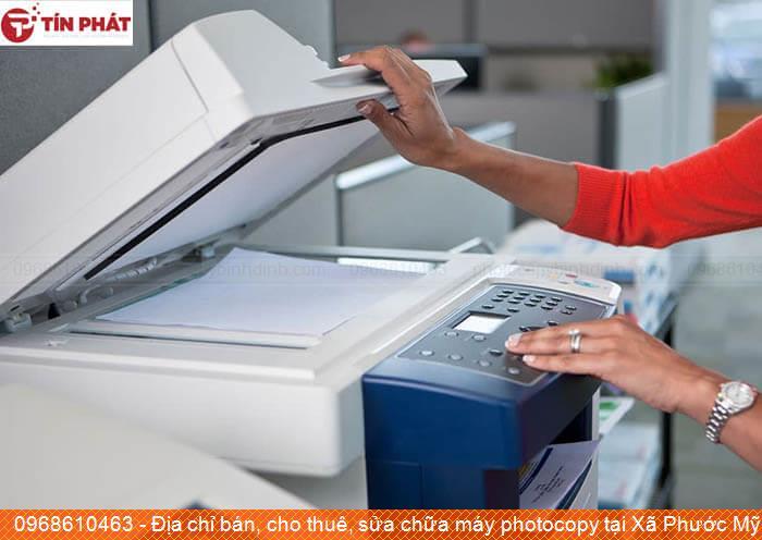 Địa chỉ bán, cho thuê, sửa chữa máy photocopy tại Xã Phước Mỹ Tp Quy Nhơn tốt nhất