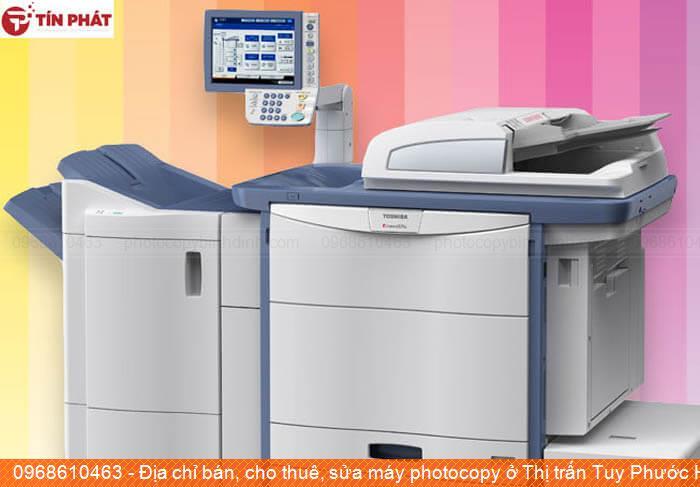 Địa chỉ bán, cho thuê, sửa máy photocopy ở Thị trấn Tuy Phước Huyện  Tuy Phước chất lượng