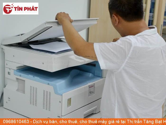 Dịch vụ bán, cho thuê, cho thuê máy giá rẻ tại Thị trấn Tăng Bạt Hổ Huyện Hoài Ân tốt nhất