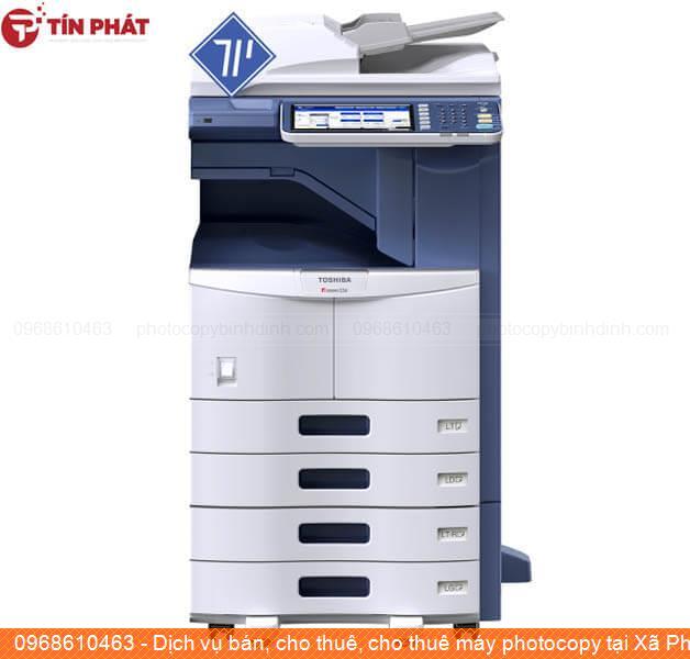 Dịch vụ bán, cho thuê, cho thuê máy photocopy tại Xã Phước Mỹ Tp Quy Nhơn giá rẻ