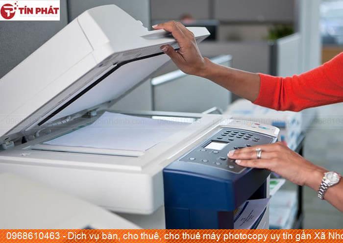 Dịch vụ bán, cho thuê, cho thuê máy photocopy uy tín gần Xã Nhơn Phong Thị xã An Nhơn uy tín