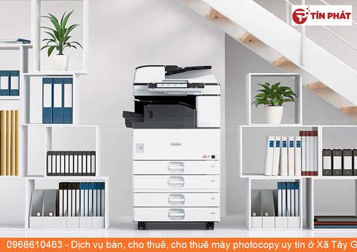 Dịch vụ bán, cho thuê, cho thuê máy photocopy uy tín ở Xã Tây Giang Huyện  Tây Sơn chất lượng