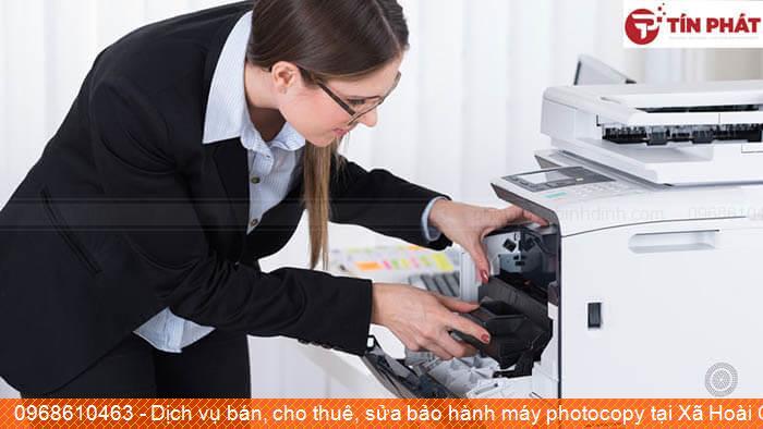 Dịch vụ bán, cho thuê, sửa bảo hành máy photocopy tại Xã Hoài Châu Bắc Thị xã Hoài Nhơn giá rẻ